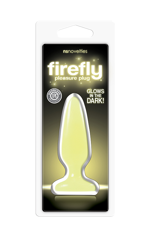FIREFLY PLEASURE PLUG SMALL YELLOW