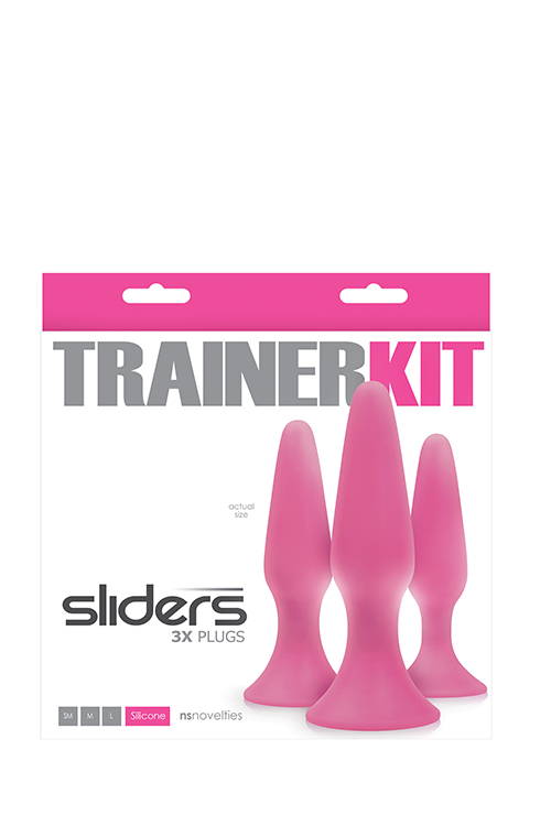 SLIDERS 3PC TRAINER KIT PINK