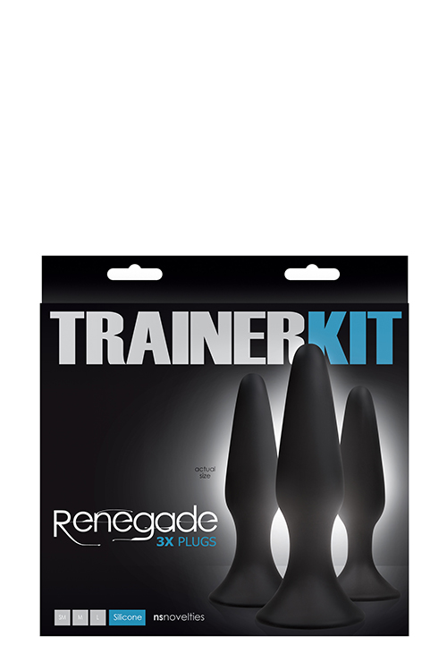 RENEGADE SLIDERS 3PC KIT BLACK