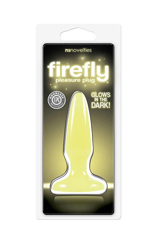 FIREFLY PLEASURE PLUG MINI YELLOW